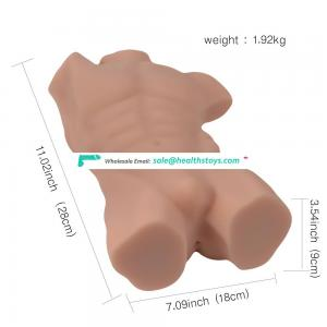 High quality robert half strong body silicone sex doll, sex toy for male masturbator doll with ass pussy