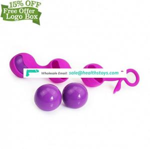 Hot Sale Dumbbell Balls Koro Ball Vagina Tight Trainer Anal Beads Kegel Exerciser Sex Toys