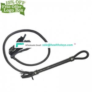 Hot Sale High Quality Sm Adults Sex Toy Leather Bondage Restraint Whip