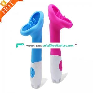 Hot Sale Vibrating Dildos Tongue Electric G Spot Machine Adult Sex Clitoral Vibrators For Women Vagina Toy