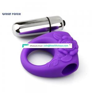 Hot Selling Mini Sex Toy Penis Ring Vibrating Rabbit Cock Ring