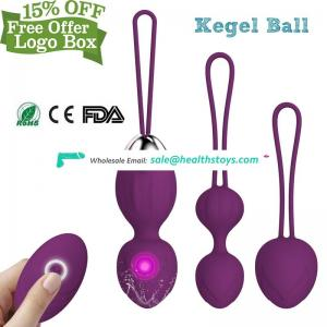 Kegel Ball for Vagina Wireless Remote Multispeed Ben Wa Daily Massager for Women Pleasure and for Strengthening of the PC Muscle