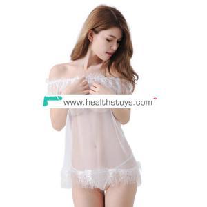 Ladies white bodysuit underwear sexy sleepwear lingerie
