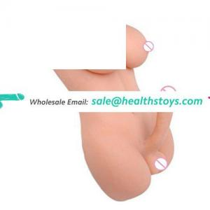 Life-size unisex solid sex toy mini silicone shemale sex love doll 3d toys for sex