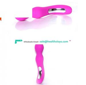 Long Thin Vagina Sexy Toys Body Wand Magic Massager Easy Sex dual ends Vibrator