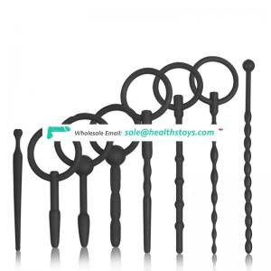 Male silicone urethral dilators sex toys for man