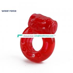 Medical Grade Pure Silicone Penis Ring With Dual Holes, Penis Love Rings Basic Cock Rings For Man