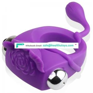 Most popular inflatable vibrator cock ring for men