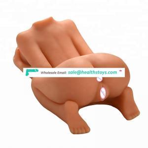 Most popular torso life size big ass rubber sex doll for men sex toy