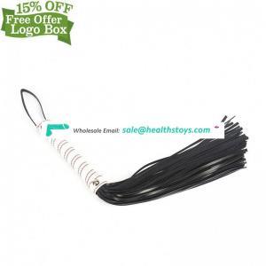 New Design Soft Leather Tassel Spanking Fetish Horse Whip Paddle Sex Toy