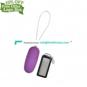 New Design Vibrating Eggs Control Jump 100% Silicone Waterproof Vibrator For Women