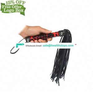 Online Shop Handle Ass Spanking Paddle Bondage Leather Whip Flirting Adult Games Toys