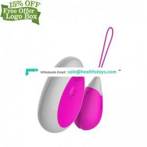 Remote Control Clitois Massage Pussy Toy Masturbator Vibrator Vibrating Eggs For Men