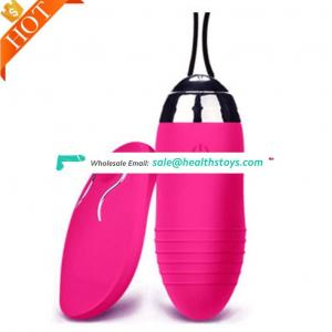 Remote Vibrator Eggs Sex Toy For Woman
