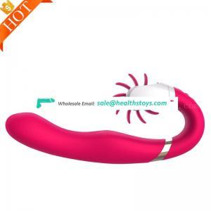Sensous Sucking lips multi-speed soft Pussy Sucker Oral Sex Machine Tongue Brush Vibrator
