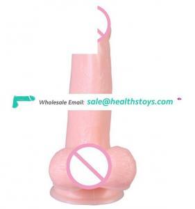 Sex Product Female Masturbation Vibrator Dildo,7 Speeds Vibrating Realistic Dildo For Women