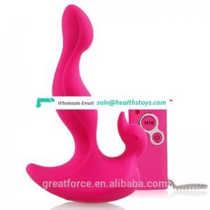 Sex product vibrating anal plug wireless vibrator anal plug adult shop