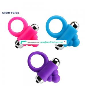 Sexual Tool Orgasmic Erection Men Silicone Adjustable Leather Cock Ring