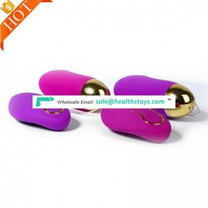 Silicone Double Shock Waterproof Love Vibrator Eggs