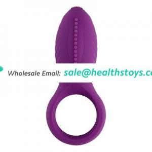 Silicone vibrating cock ring for rmen