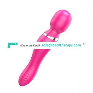 Silicone vibrating toys g spot Erotic Japanese For Men Penis Massage Wand Vibrator