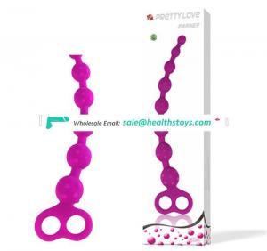 Soft Silicone Anal Sex Toy,Especially Long Bring Extreme Stimulating Pleasure,Sex Products Realistic Dildo Anal Beads GS0090
