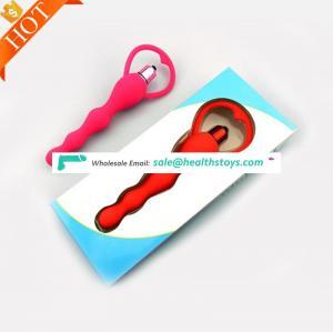 Special Design Aiguille Shape Custom Prostate Stimulating Toys Lesbian Anal Beads Plug