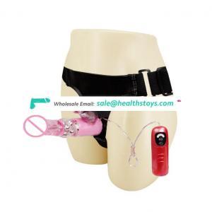 Strap On Rabbit Vibrator Dildos Sex Toys for Women and Lesbian