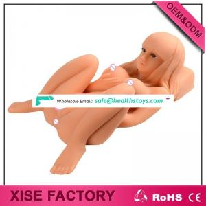 Top Quality Big Boobs half body Sex Doll Full Silicone Sexy Doll For Men, Angena Full Solid Sexy doll