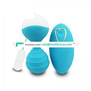 USB 10 Speed Silicone Vibrating Wireless Eggs Vagina Smart Kegel Balls Vaginal Tighten Exercise Sex Toys for Women