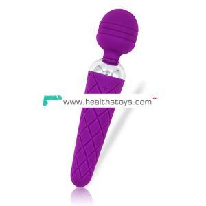 USB plus single head av stick wireless rechargeable magic wand massager