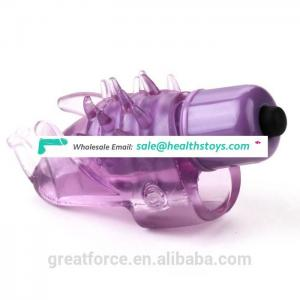 Unisex Toys Prawns Finger Vibrator for Adjusting Sexual Atmosphere