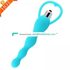 Various Colors Sex Toys Anal Waterproof Quality Silicone Plug For Man