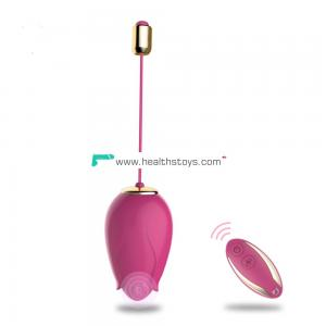 Vibrating bullet vibrator  for clit stimulation, vibrating love egg vibrator Sex toys for women