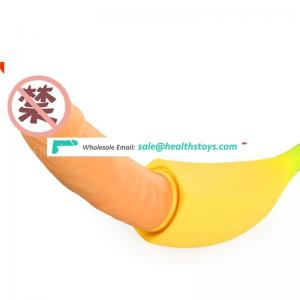 Waterproof Intelligent Heating Sex Toys Stimulate Massage Secret Dildo Inside Banana Dildo Dick Double Vibrator For Lesbian Men