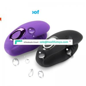 Waterproof silicone heated vibrators for U Type Clitoris New Products G-Spot Couple Vibrator