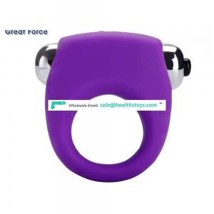 Wholesale 4 speeds penis cock vibrating ring increase penis size