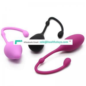 Wholesale Safe Silicone Smart Kegel Ball Ben Wa Ball Vagina Tighten Exercise Machine Adult Sex Toys for Women
