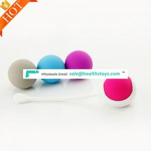Wholesale Vagina Tight Exercise Sex Toys Ben Wa Smart Stress Flexible Ball For Women Sex Toy