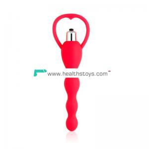 Wholesale anal rotating vibrator high quality anal beads pulg
