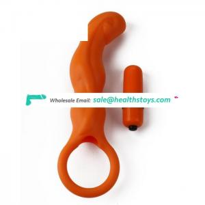 Wholesale silicone dilido vibrator anal sex hot for male prostate