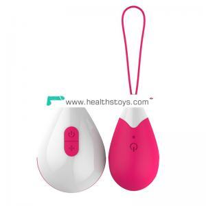 Wireless telecontrol jump eggs vibrator women vibrating eggs with remote control