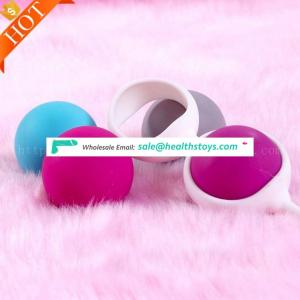 sexual health High Quality Silicone Waterproof Jiggle Medical Silicone Kegel Exercise Ball