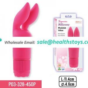 silicone rabbit vibrator sex toy