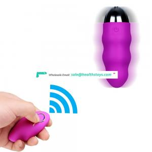 10 Speeds Waterproof Silent Vibrators with Wireless Remote Control Love Egg Vibrating Bullet Vibrator Adult Sex toys for Woman