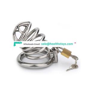 100% Stainless Steel Penis Chastity Cage Male Cock Sex Toys
