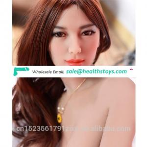 158CM  sexy hot china silicone doll masturbation doll for men small breast sex Doll Video made in china