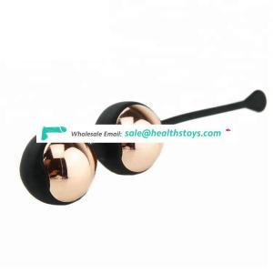 2018 Trending Products High Quality Silicone and Metal Ben Wa Balls Waterproof Kegel Balls