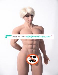 2019 super soft skin 180cm big ass strong cock full silicone sexy muscle fat men sex doll for man and woman