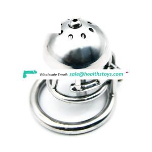 316L Stainless Steel Male Chastity Device Penis Lock with Tube
